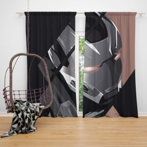 War Machine James Rhodes SHIELD Bedroom Window Curtain