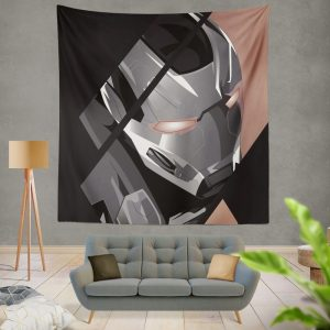 War Machine James Rhodes SHIELD Wall Hanging Tapestry