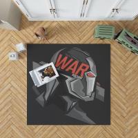 War Machine Marvel MCU Avengers Bedroom Living Room Floor Carpet Rug