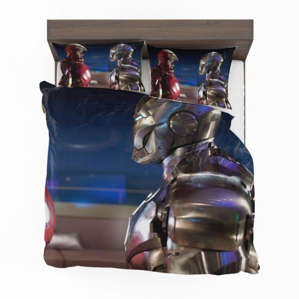 War Machine Rhodey Marvel MCU Iron Man 2 Movie Bedding Set