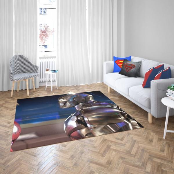War Machine Rhodey Marvel MCU Iron Man 2 Movie Bedroom Living Room Floor Carpet Rug