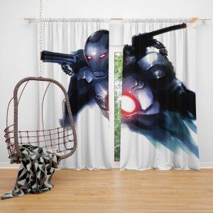 War Machine United States Department of Defense Marvel Bedroom Window Curtain