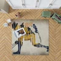 Wolverine Alpha Flight Marvel Comics Bedroom Living Room Floor Carpet Rug