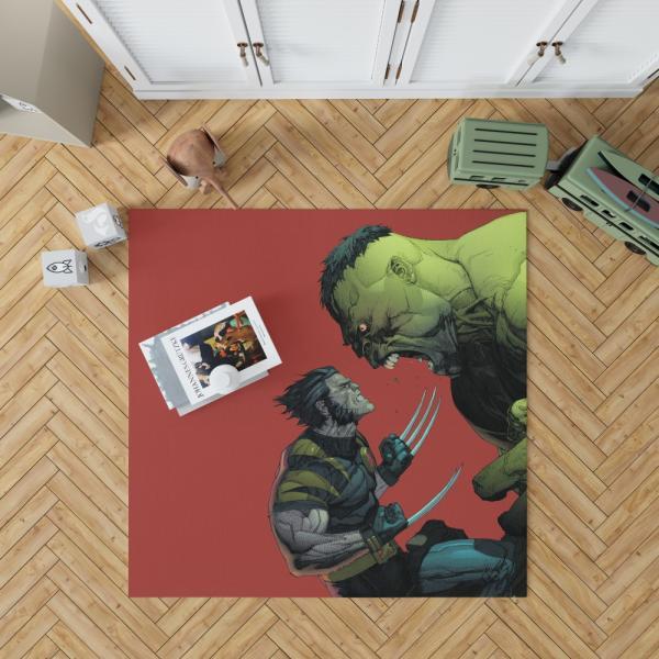 Wolverine Comics Post mortem and legacy Bedroom Living Room Floor Carpet Rug