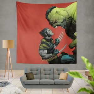 Wolverine Comics Post mortem and legacy Wall Hanging Tapestry
