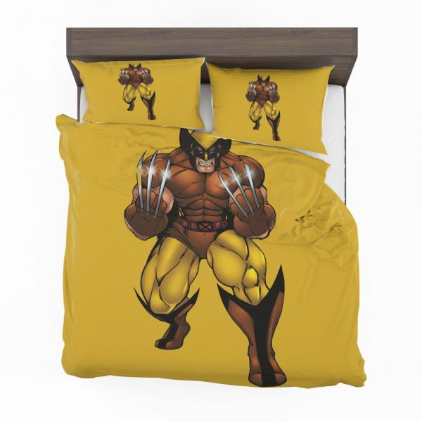 Wolverine Comics X-Force Bedding Set