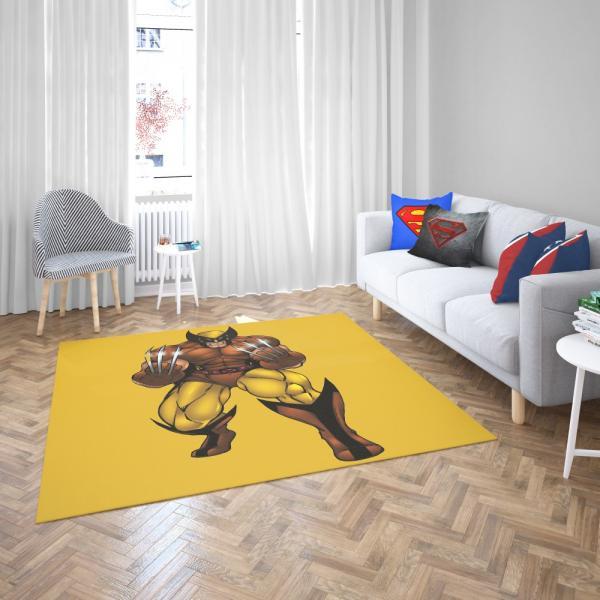 Wolverine Comics X-Force Bedroom Living Room Floor Carpet Rug