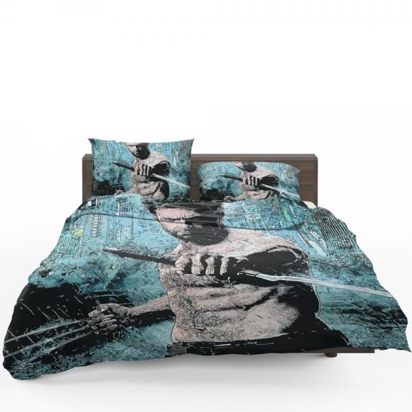 Wolverine Hugh Jackman Resurrection Marvel Bedding Set