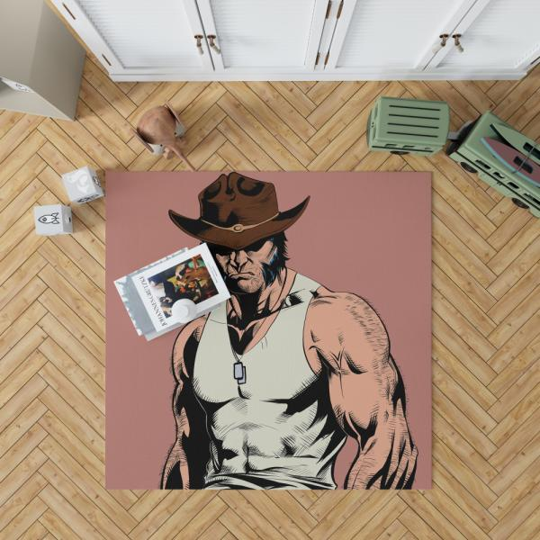 Wolverine Infinity Countdown Marvel Comics Bedroom Living Room Floor Carpet Rug