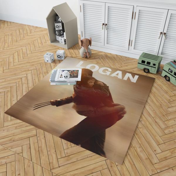 Wolverine Logan Movie Hugh Jackman Bedroom Living Room Floor Carpet Rug
