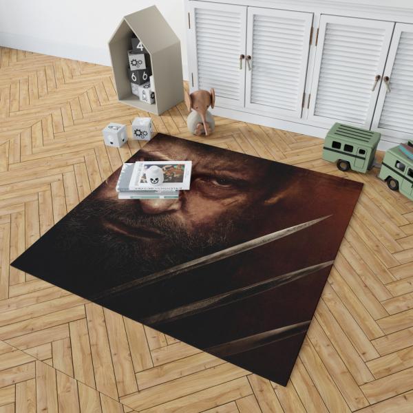 Wolverine Logan Movie Hugh Jackman Laura Kinney X-23 Bedroom Living Room Floor Carpet Rug