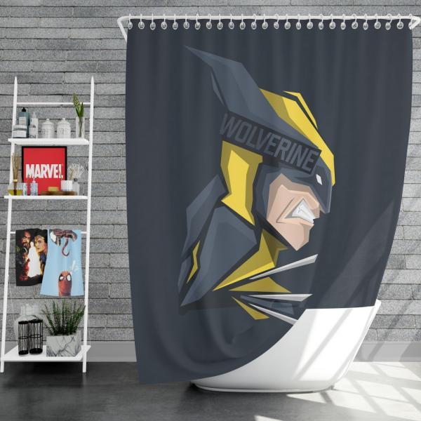Wolverine Marvel Comics Hunt for Wolverine Shower Curtain
