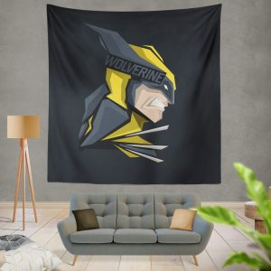 Wolverine Marvel Comics Hunt for Wolverine Wall Hanging Tapestry
