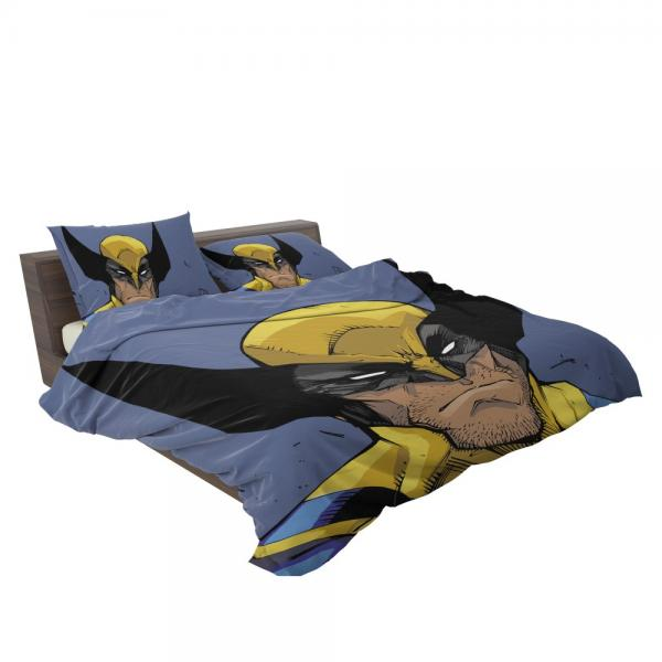 Wolverine Marvel Comics Return of Wolverine Bedding Set