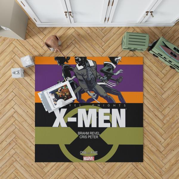 Wolverine Marvel Knights X-Men Bedroom Living Room Floor Carpet Rug