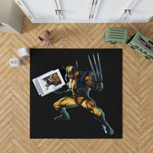 Wolverine Marvel Savage Avengers Bedroom Living Room Floor Carpet Rug