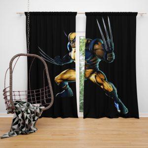 Wolverine Marvel Savage Avengers Bedroom Window Curtain