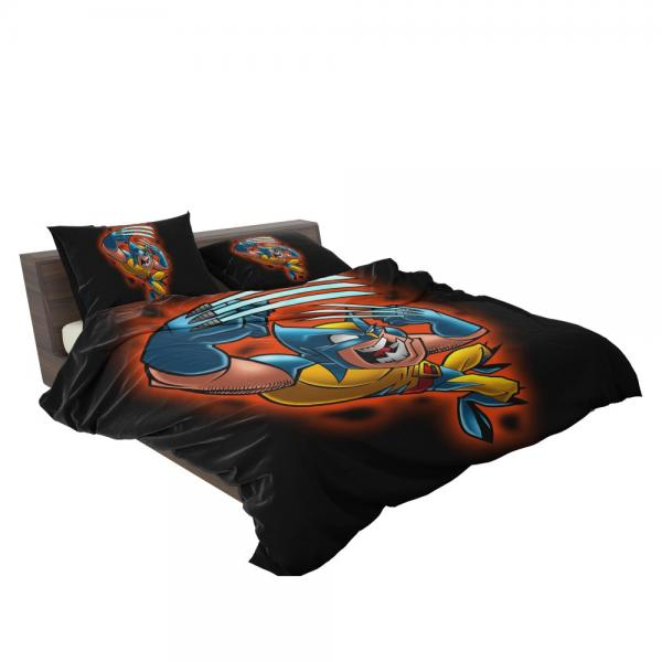 Wolverine Marvel Wolverine Comics Goes to Hell Bedding Set