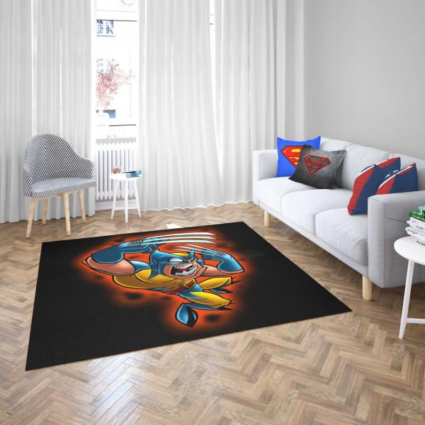 Wolverine Marvel Wolverine Comics Goes to Hell Bedroom Living Room Floor Carpet Rug