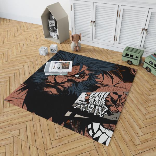 Wolverine Post mortem and legacy Bedroom Living Room Floor Carpet Rug