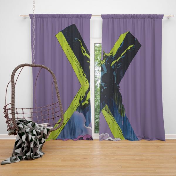 Wolverine X-23 Comics X-Men Bedroom Window Curtain