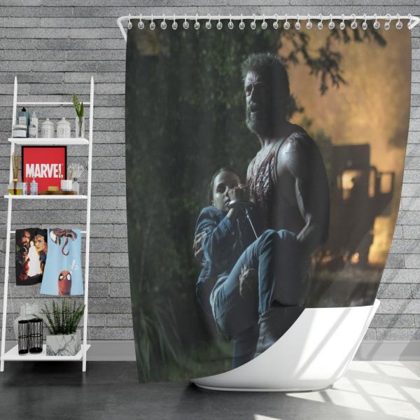 Wolverine X-Men Days Of Future Past Movie Shower Curtain