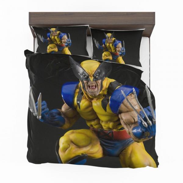Wolverine X-Men Figurine Marvel Comics Bedding Set