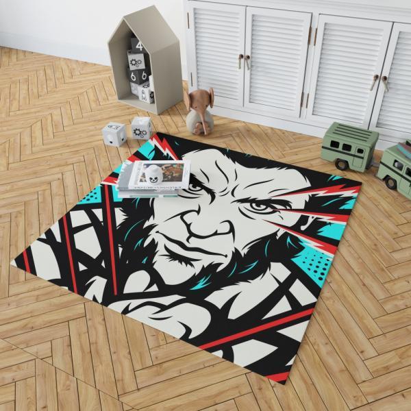 Wolverine X-Men Origins Hugh Jackman Bedroom Living Room Floor Carpet Rug