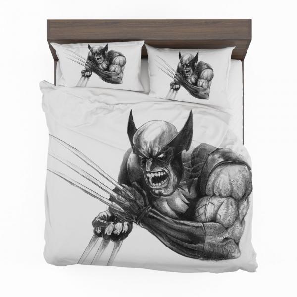 Wolverine and Hulk Fight Marvel Comics Bedding Set