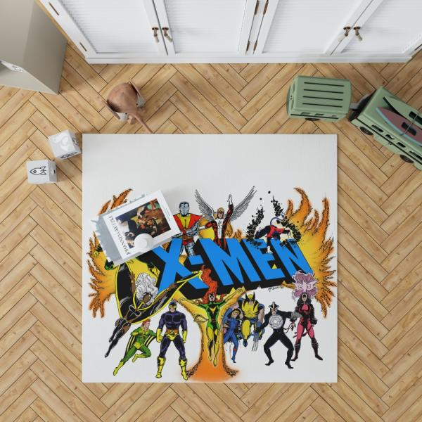 Wolverine in X-Men Univerese Bedroom Living Room Floor Carpet Rug