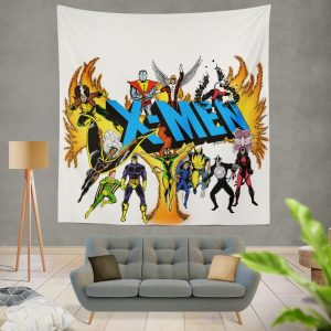 Wolverine in X-Men Univerese Wall Hanging Tapestry