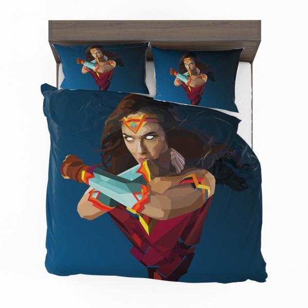 Wonder Woman DC Comics Facets Bedding Set