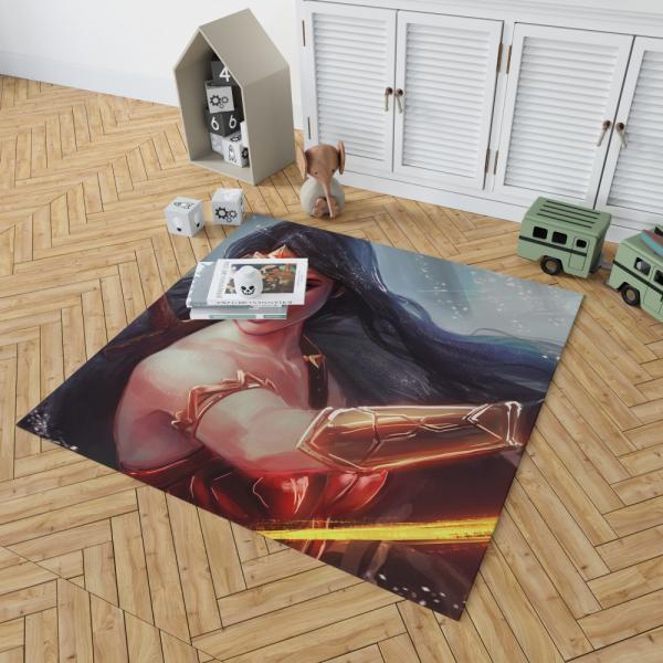 Wonder Woman DC Comics Woman Warrior Bedroom Living Room Floor Carpet Rug