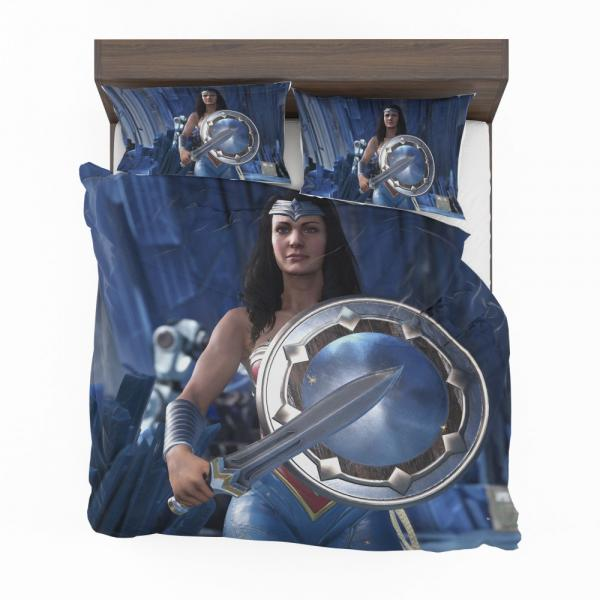 Wonder Woman Injustice 2 Video Game DC Bedding Set
