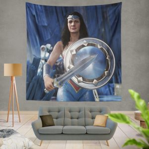 Wonder Woman Injustice 2 Video Game DC Wall Hanging Tapestry