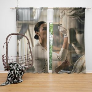 Wonder Woman Justice League 2017 Movie Gal Gadot Bedroom Window Curtain