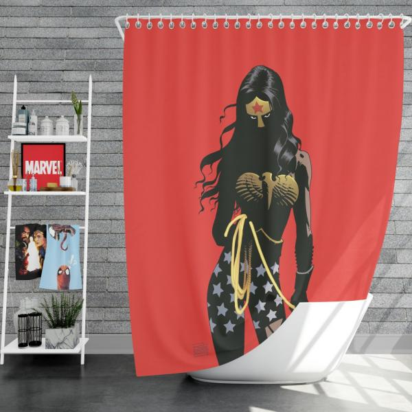 Wonder Woman Justice League Dark DC Comics Shower Curtain