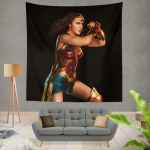 Wonder Woman Justice League Gal Gadot Wall Hanging Tapestry