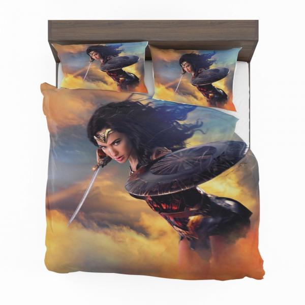 Wonder Woman Movie Diana of Themyscira Gal Gadot Bedding Set