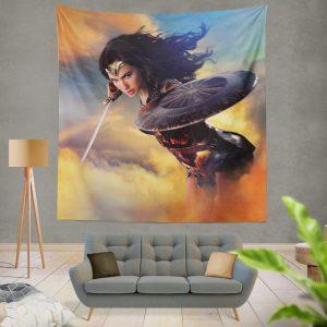 Wonder Woman Movie Diana of Themyscira Gal Gadot Wall Hanging Tapestry