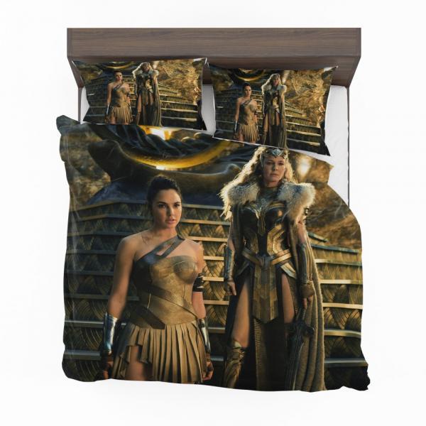 Wonder Woman Movie Gal Gadot Department of Metahuman Affairs Bedding Set
