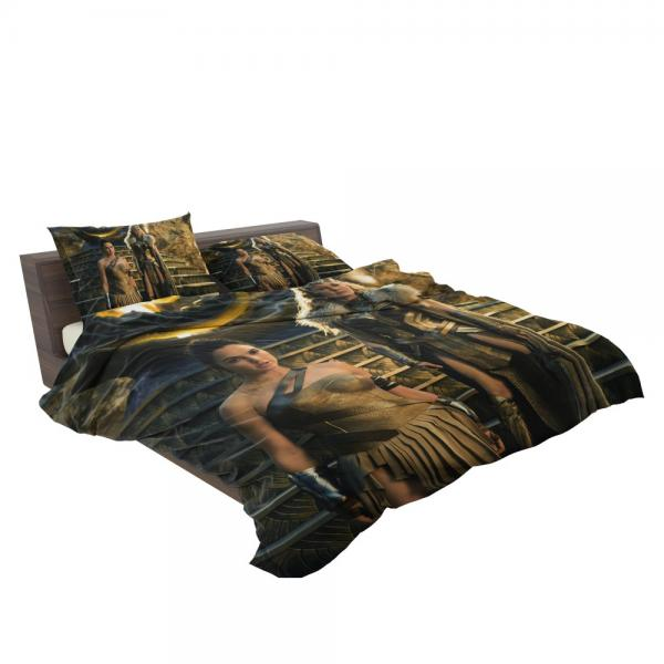 Wonder Woman Movie Gal Gadot Department of Metahuman Affairs Bedding Set