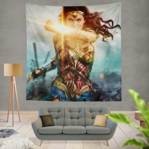 Wonder Woman Movie Gal Gadot Wall Hanging Tapestry