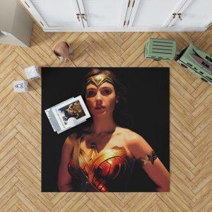 Wonder Woman Movie Justice League 2017 Gal Gadot Bedroom Living Room Floor Carpet Rug
