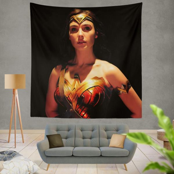 Wonder Woman Movie Justice League 2017 Gal Gadot Wall Hanging Tapestry