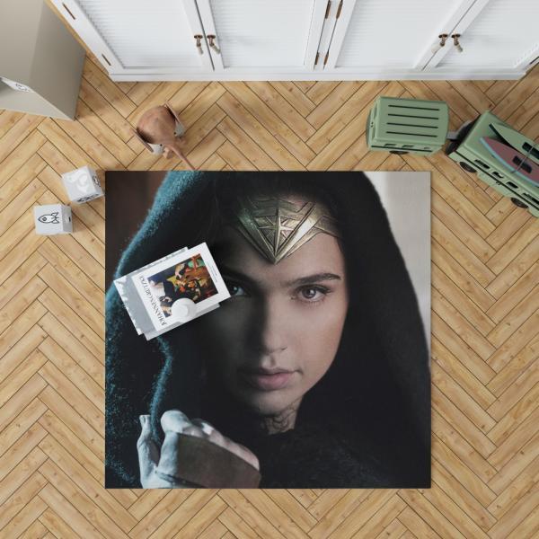 Wonder Woman Movie Prince of Themyscira Gal Gadot Bedroom Living Room Floor Carpet Rug