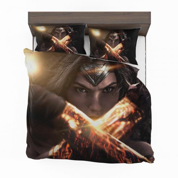 Wonder Woman in Batman v Superman Movie Bedding Set