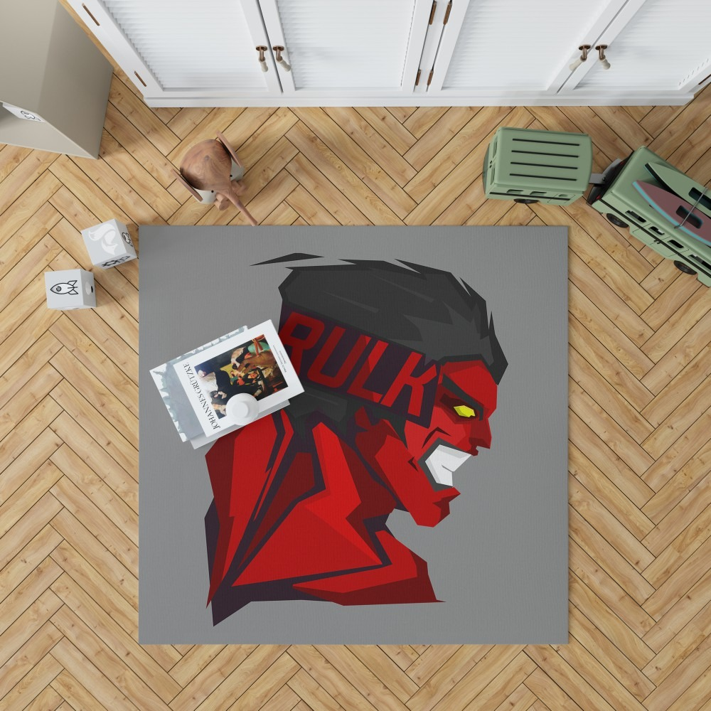 World War Hulks Marvel Comics Red Hulk Bedroom Living Room ...