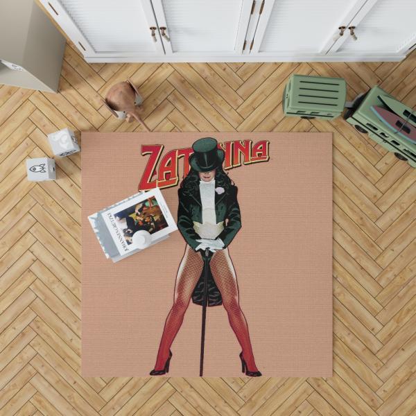 Zatanna DC Comics Justice League Bedroom Living Room Floor Carpet Rug