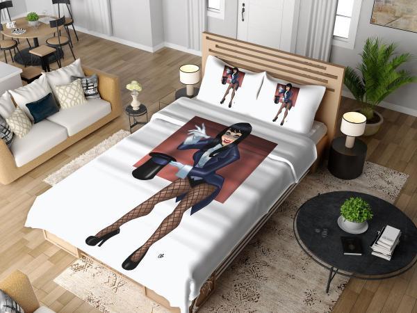 Zatanna DC Comics Magician Bedding Set